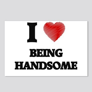 handsome Postcards (Package of 8)