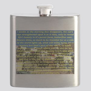 Big Puzzle of Life Flask