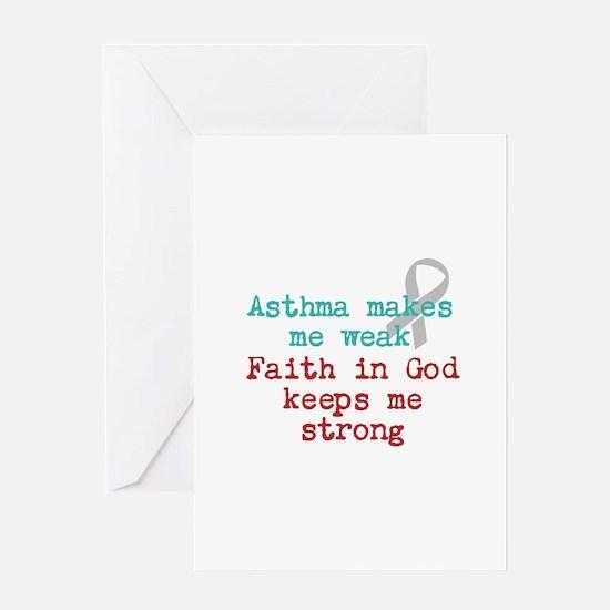 Faith In God Greeting Card
