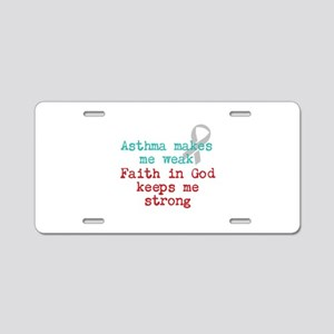 Faith In God Aluminum License Plate