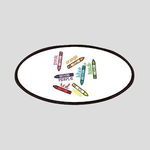 Crayon Colors Patch