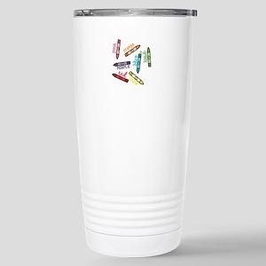 Crayon Colors Travel Mug