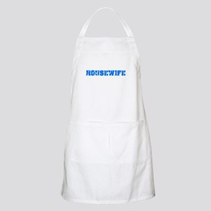 Housewife Blue Bold Design Light Apron