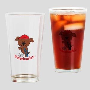 Veterinarian Drinking Glass