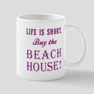 LIFE IS SHORT. Mugs