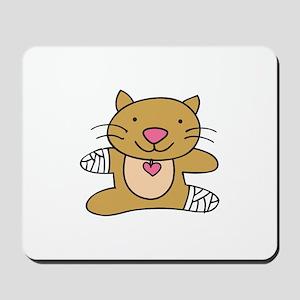 Sick Kitty Mousepad