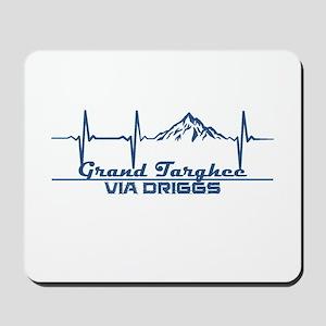 Grand Targhee - via Driggs - Wyoming Mousepad