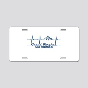 Grand Targhee - via Drigg Aluminum License Plate