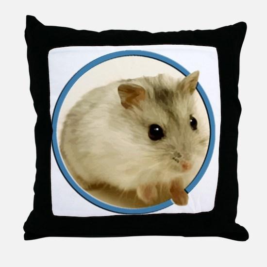 Cute Rodent Throw Pillow