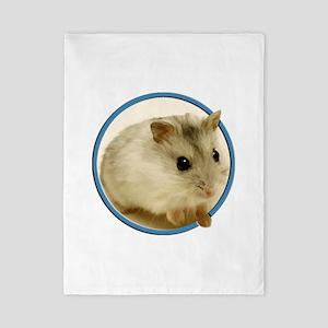 Teeny Hamster in Circle Twin Duvet