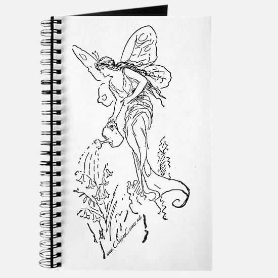 Caring Fairy - Black - Journal