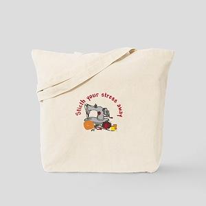 Stitch Stress Away Tote Bag