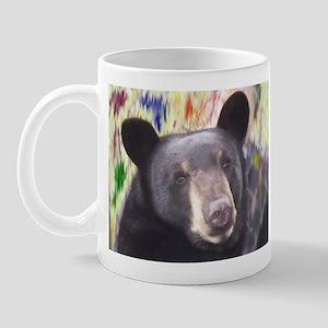 Black Bear Face Mug