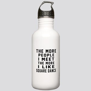 I Like Square Dance Stainless Water Bottle 1.0L