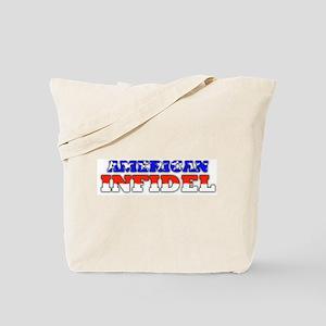 American Infidel Tote Bag
