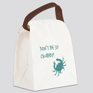 DON'T BE SO CRABBY! Canvas Lunch Bag