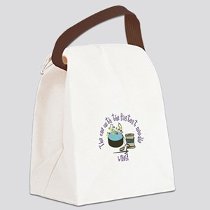 Sewing Fast Canvas Lunch Bag