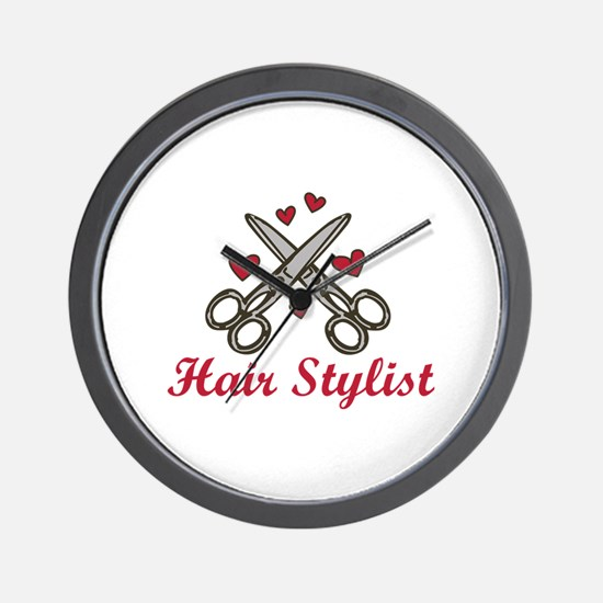Hair Stylist Wall Clock