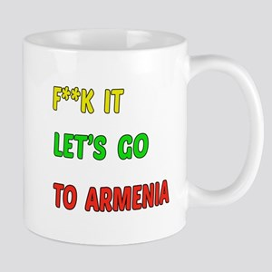 Let's go to Armenia Mug