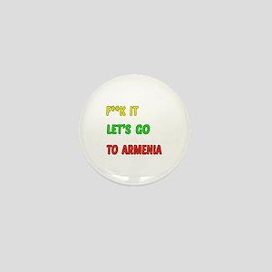 Let's go to Armenia Mini Button