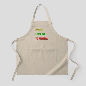 Let's go to Armenia Apron
