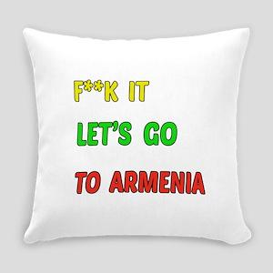 Let's go to Armenia Everyday Pillow