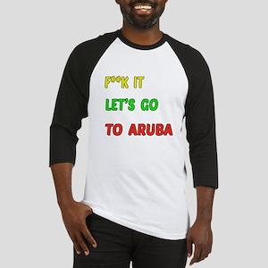 Let's go to Aruba Baseball Jersey