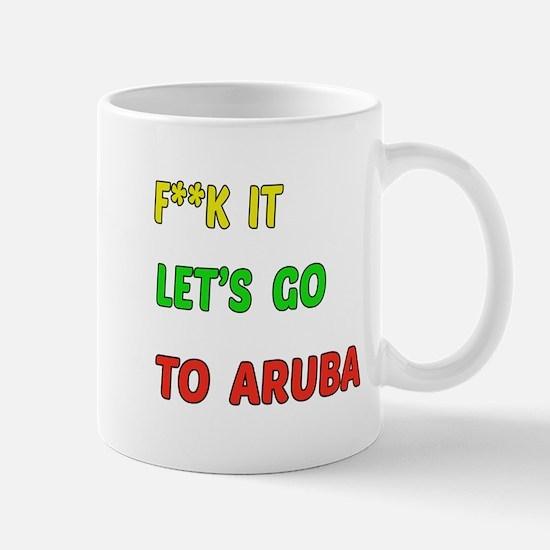Let's go to Aruba Mug