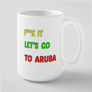 Let's go to Aruba Large Mug