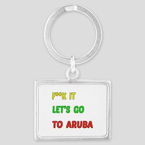 Let's go to Aruba Landscape Keychain