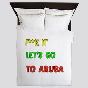 Let's go to Aruba Queen Duvet