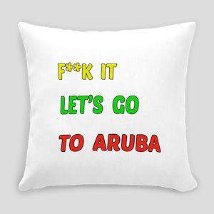 Let's go to Aruba Everyday Pillow