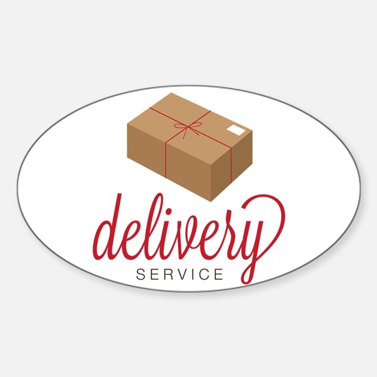 Delivery Service Decal
