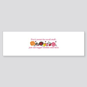 Knitting Stuff Bumper Sticker
