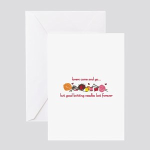 Good Knitting Greeting Cards