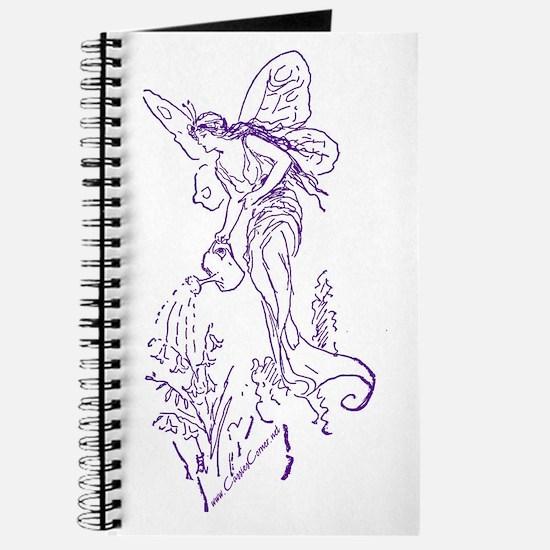 Caring Fairy - Purple - Journal