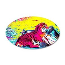 Tiger Bright Wall Decal