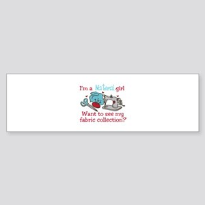 Fabric Collection Bumper Sticker
