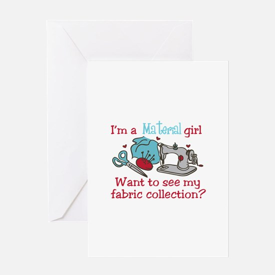 Fabric Collection Greeting Cards