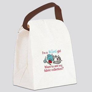 Fabric Collection Canvas Lunch Bag