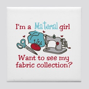 Fabric Collection Tile Coaster