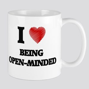 being open-minded Mugs