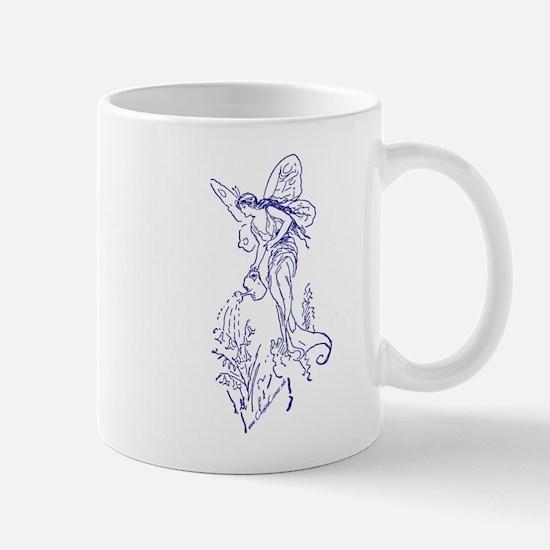 Caring Fairy - Blue - Mug
