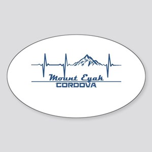Mount Eyak - Cordova - Alaska Sticker