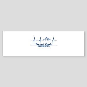 Mount Eyak - Cordova - Alaska Bumper Sticker