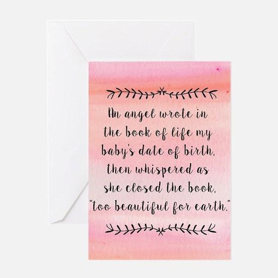 Unique Pregnancy Greeting Card