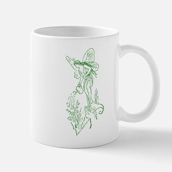 Caring Fairy - Green - Mug