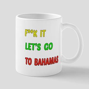 Let's go to Bahamas Mug