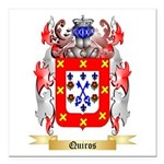 Quiros Square Car Magnet 3
