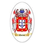 Quiros Sticker (Oval 10 pk)